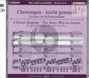 Paulus Op.36 Alt Chorstimme 2 CD's