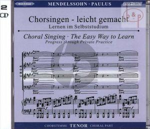 Paulus Op.36 Tenor Chorstimme 2 CD's