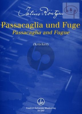 Passacaglia & Fugue F-sharp minor