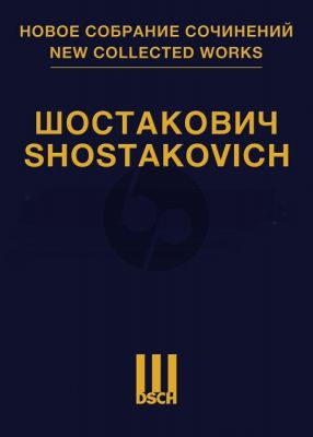 Shostakovich The Nose Op.15 A Satirical Opera in 3 Acts Vocal Score (Collected Works Vol.51) (Russian Text)