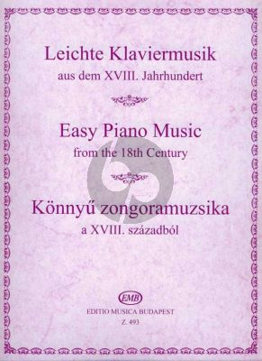 Easy Piano Music from the 18th Century (edited by Lajos Hernádi)