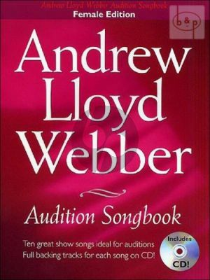 Audition Songbook (Female Edition with Piano)