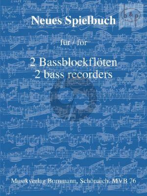 Neues Spielbuch Vol.1 2 Bassblockflöten (arr. Johannes Bornmann)
