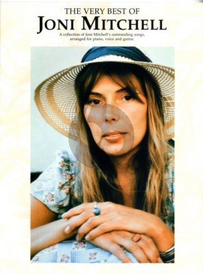 The Very Best of Joni Mitchell Piano-Vocal-Guitar