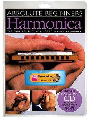 Absolute Beginners Harmonica - Instrument Pack (Bk-Cd)