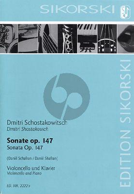 Sonate Op.147 Violoncello-Klavier