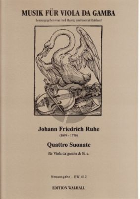 Ruhe Suonate (4) Viola da Gamba-Bc (Musil)