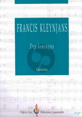 KLeynjans 3 Homenajes para Guitarra