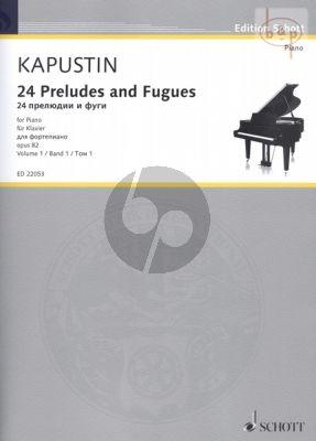 24 Preludes & Fugues Op.82 Vol.1