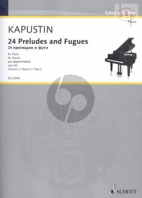 24 Preludes & Fugues Op.82 Vol.2