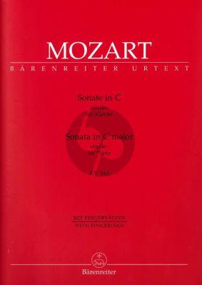 Mozart Sonata C-dur (Facile) KV 545 (Barenreiter)