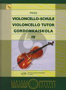 Friss Violoncello Tutor Vol.4