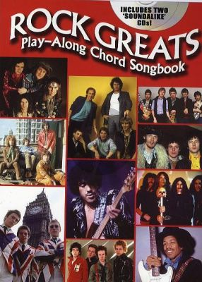 Rock Greats Playalong Chord Songbook (Book with 2 CD Set)
