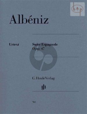 Suite Espagnole Op.47 Klavier (Scheideler)