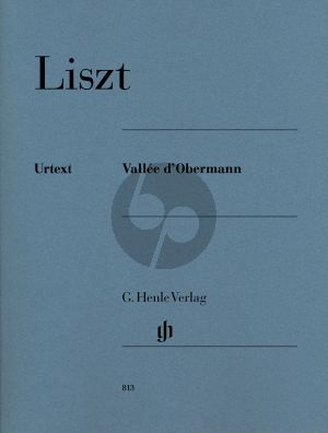 Liszt Vallee d'Obermann (Henle-Urtext)