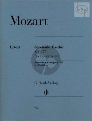 Serenade Es-dur KV 375 (Blaseroktett) (Stimmen)