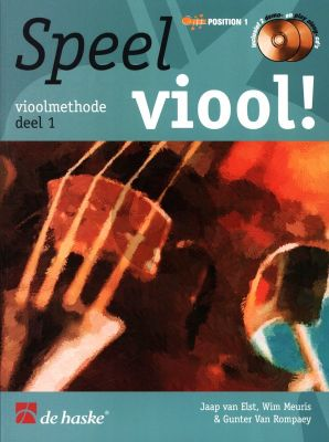 Speel Viool Vol.1 (Viool Methode) (Bk-Cd) (Position 1)