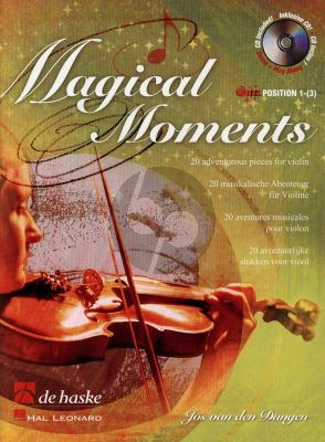 Dungen Magical Moments for Violin (Bk-Cd) (20 Adventurous Pieces) (Position 1 - 3)