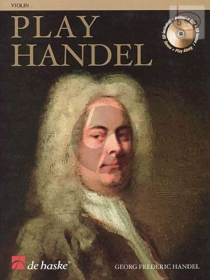 Play Handel for Violin (Bk-Cd) (12 Famous Pieces)