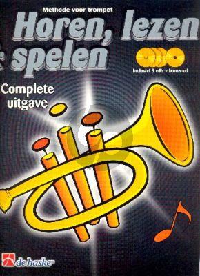 Horen Lezen & Spelen Trompet (komplete uitgave) (Bk- 4 CD's)