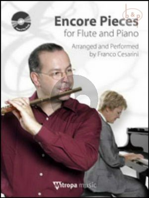 Encore Pieces (Flute-Piano) (Bk-Cd) (CD as Play-Along and Demo)