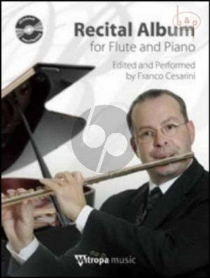 Recital Album (Flute-Piano) (Bk-Cd) (CD as Play-Along and Demo)