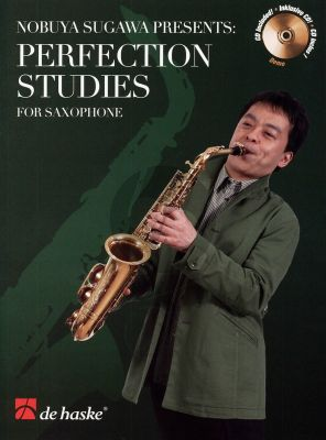 Perfection Studies for Saxophone (Bk-Cd) (presented by Nobuya Sugawa)