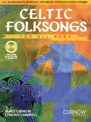 Celtic Folksongs for All Ages for Bass Clef Instruments
