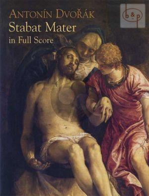 Dvorak Stabat Mater Op.58 Soli-Choir-Orch. Full Score (Dover)