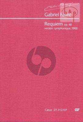 Requiem op.48 (Version Symphonique 1900)