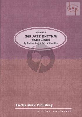 265 Jazz Rhythm Exercises Vol.4