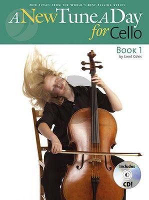 Coles A New Tune a Day for Cello Book 1 (Bk-Cd)