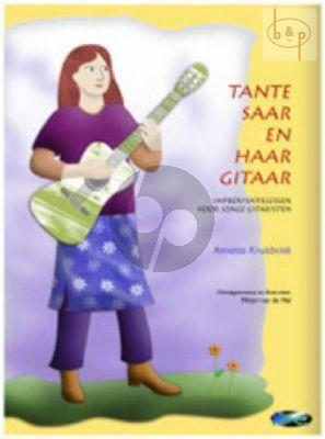 Tante Saar an haar Gitaar