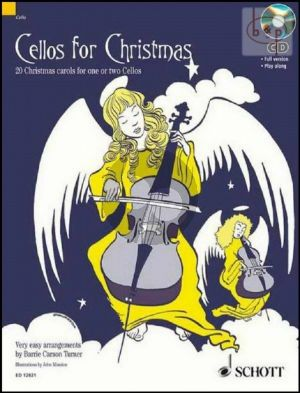 Cellos for Christmas (20 Christmas Carols in easy arr.) (1 - 2 Violonc.)