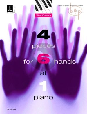 4 Pieces for 6 Hands at one piano