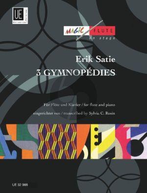Satie 3 Gymnopedies Flute-Piano
