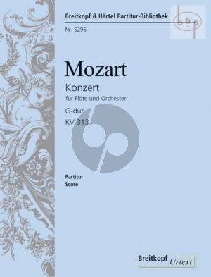 Konzert G-dur KV 313 (285c)(Wiese/Schulze)