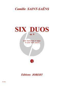 Saint-Saens 6 Duos Op.8 pour Piano et Harmonium ou 2 Pianos