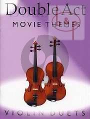 Double Act Movie Themes Violin Duets