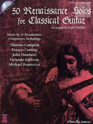 50 Renaissance Solos for Classical Guitar (Bk-Audio Access Code)
