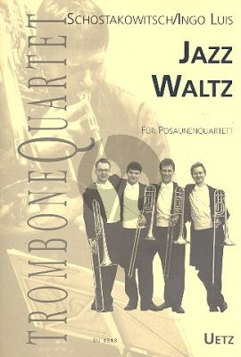 Jazz Waltz 4 Trombones