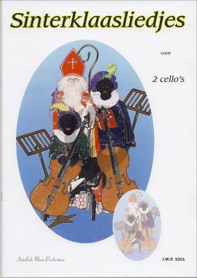 Sinterklaasliedjes (2 Violoncellos) (arr.W.Poot) (zeer eenvoudig)