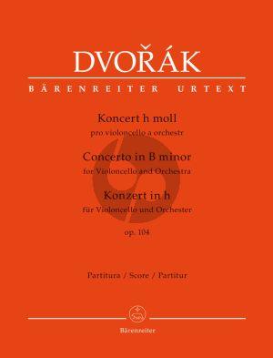 Dvorak Concerto Op.104 B Minor Violoncello-Orchestra Fullscore