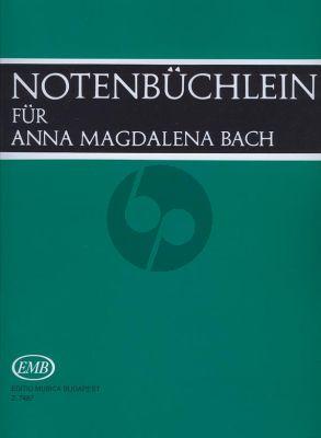 Bach Notenbüchlein für Anna Magdalena Bach Klavier (Urtext)