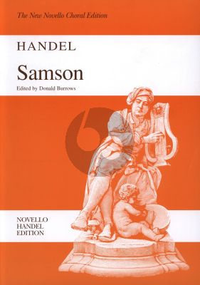 Handel Samson HWV 57 Vocal Score (engl.) (edited by Donald Burrows)