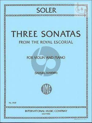 3 Sonatas from the Royal Escorial