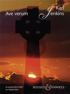 Jenkins Ave Verum Voice and Piano with optional second voice part (Latin)