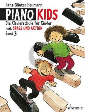 Heumann Piano Kids vol.3 (zusammen mit Aktionsbuch Spass und Aktion)