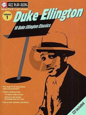Ellington 10 Jazz Favorites (Jazz Play-Along Series Vol.41)