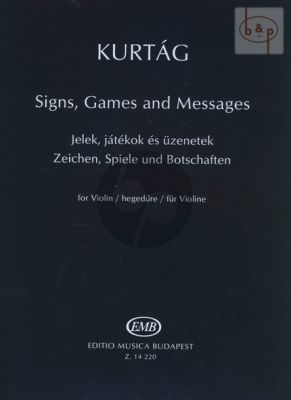 Signs, Games and Messages Violin Solo
